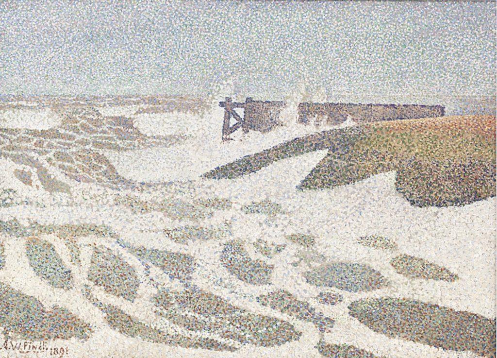 linkki amos rex tee oma pointillistinen maalaus