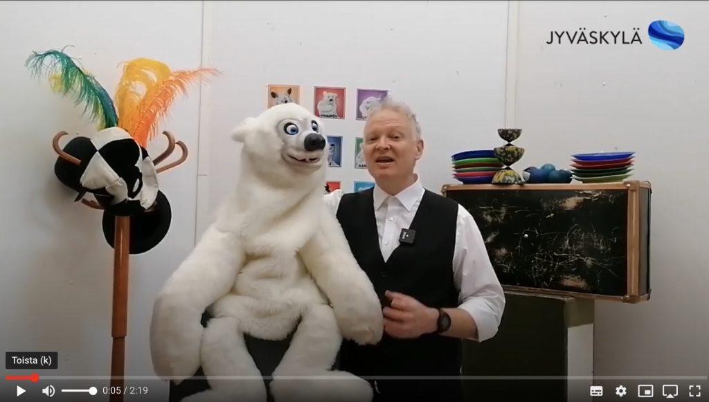 linkki taika-petterin ja jakke jääkarhun beatboxauksen opsikelua