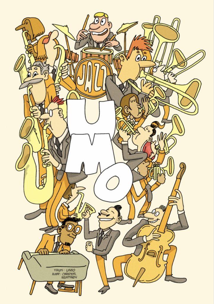 linkki ymo helsinki jazz orchestran sarjakuva