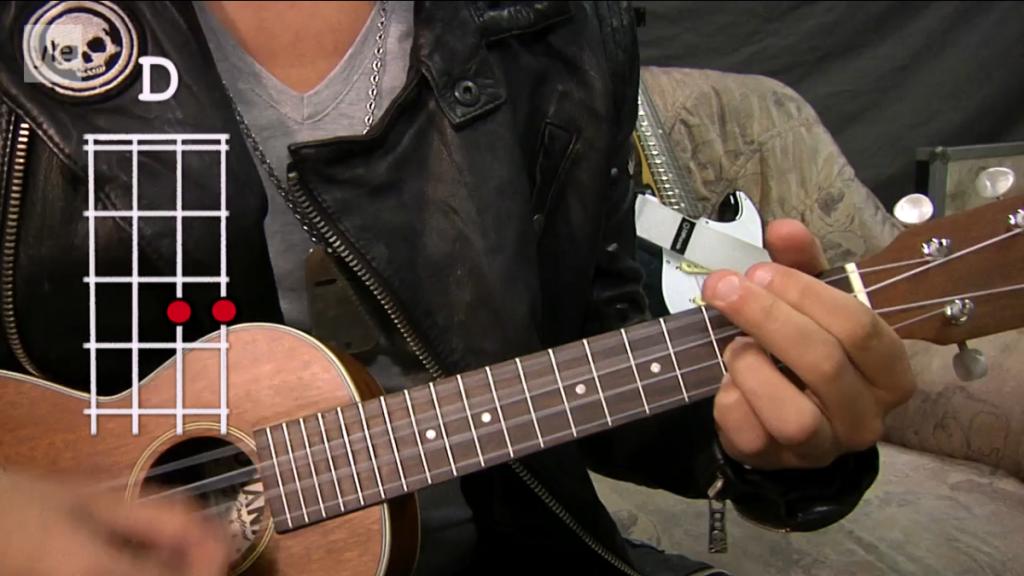länk blueskomp med ukulele