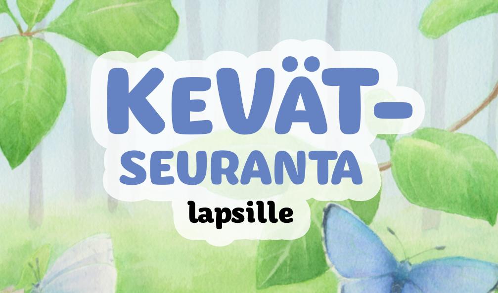 linkki luonto-liiton lasten kevätseurantakortti