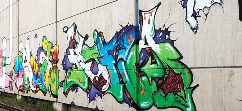 graffiti, juuret ja siivet sivustolla nuorten omaa kulttuuriperintöä.