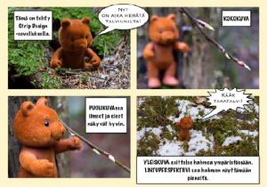 Kuvakoot sarjakuvassa, Espoon kuvataidekoulun tehtävä.
